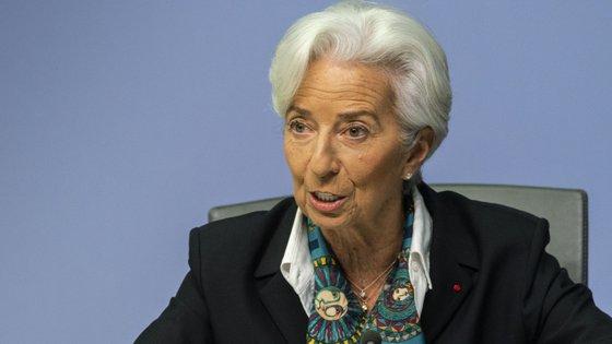 Christine Lagarde sucedeu a Mario Draghi na liderança do BCE.