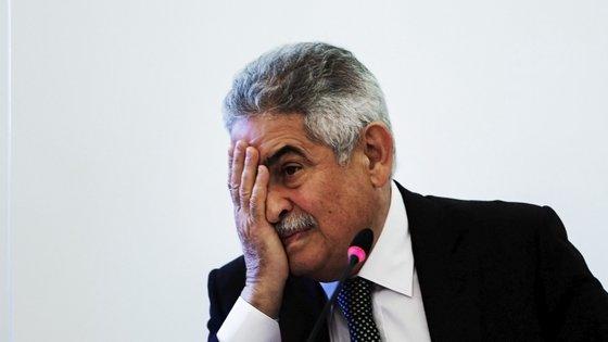 Luís Filipe Vieira foi sujeito a uma caução de três milhões de euros