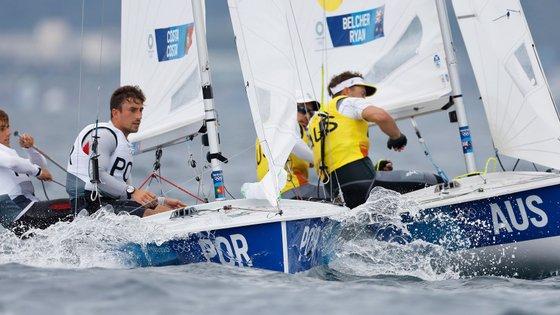 """Essas regatas que faltam da fase regular """"vão ser muito importantes"""", já que os dois estão ainda fora dos 10 primeiros, que acedem à """"medal race""""de Tóquio2020"""
