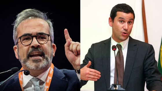 """""""Se o exemplo que vem do topo é este, que se pode esperar do comportamento de secretários de Estado?"""", questiona Paulo Rangel"""