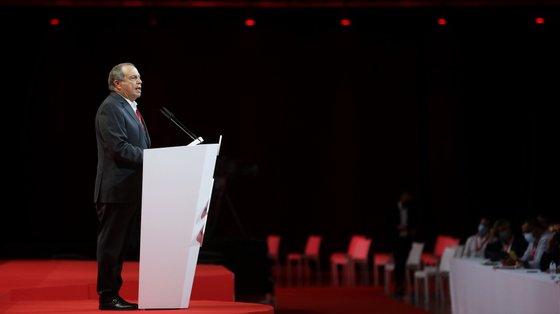 César abriu os trabalhos depois de ter sido reeleito presidente, com 90,74%