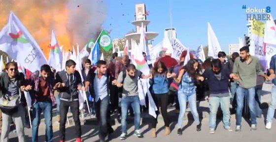 A operação policial vem na sequência do atentado que matou pelos 97 pessoas em Ancara