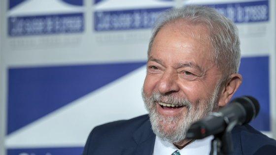 Lula da Silva recuperou os seus direitos políticos este ano, após o Supremo Tribunal Federal anular as suas condenações no âmbito da operação Lava Jato