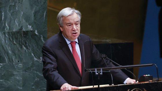 """O secretário-geral da ONU, António Guterres, propôs-se continuar no cargo como """"construtor de pontes"""" e """"intermediário honesto"""""""