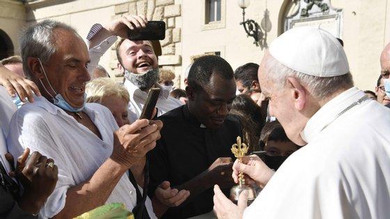 """Papa convida as comunidades diocesanas a """"planear atividades baseadas no tema da iniciativa, utilizando os símbolos que a Diocese de Roma está a preparar"""""""