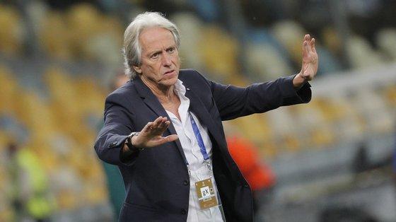 """""""Em todos os jogos o Benfica tem de estar melhor, é com essa ideia que trabalho e que os jogadores tentam partilhar"""", diz Jorge Jesus"""