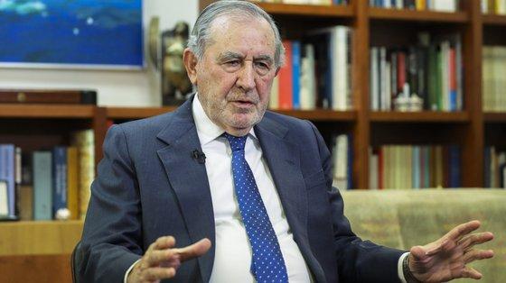 """O antigo presidente da República, de 86 anos, destacou """"a experiência de competência, de diálogo e de tolerância"""" do candidato do PS"""