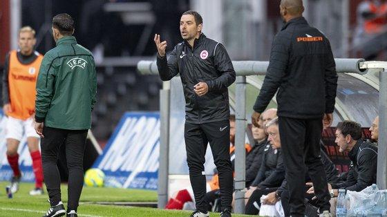 """""""Do que vimos do Paços, posso dizer que tem muitos jogadores de qualidade e, certamente, vai criar-nos muitas dificuldades"""" afirmou o treinador"""