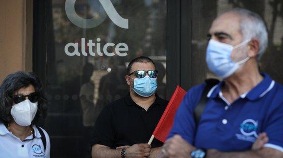 A concentração de trabalhadores começará Picoas, em frente às instalações da Altice, em Lisboa, pelas 14:30, e partirá depois para os ministérios das Infraestruturas e do Trabalho.