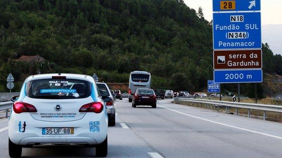 No período em análise, o tráfego cresceu 8,4%