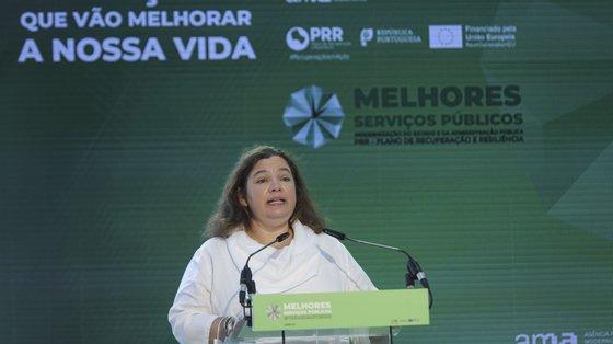 """Estou absolutamente convencida de que o trabalho conjunto com os estabelecimentos de ensino superior será a base da administração pública mais qualificada que queremos promover"""", disse Alexandra Leitão"""