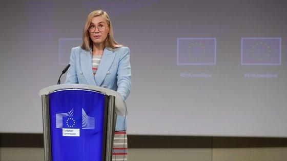 """""""Na situação atual, a Europa precisa de investir em energias renováveis"""", disse Kadri Simson"""