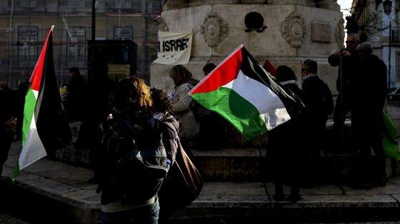 Em causa está uma concentração à porta do Coliseu dos Recreios em 2019, promovida pelo Comité de Solidariedade com a Palestina