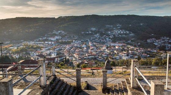 Vista panorâmica de Vila Pouca de Aguiar, distrito de Vila Real, 23 de outubro de 2017. PEDRO SARMENTO COSTA / LUSA