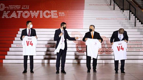 A reunião realizou-se em Katowice, no sul da Polónia