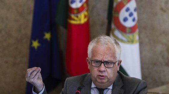 O Ministro da Administração Interna, Eduardo Cabrita