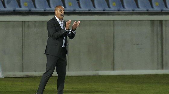"""O treinador do Vitória afirmou ainda """"confiança total"""" no plantel vitoriano, fruto do """"volume ofensivo"""" até agora apresentado"""