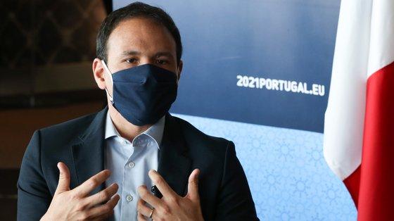 André de Aragão Azevedo, secretário de Estado da Transição Digital, falava numa mensagem gravada para a Cimeira Económica e Comercial Transatlântica