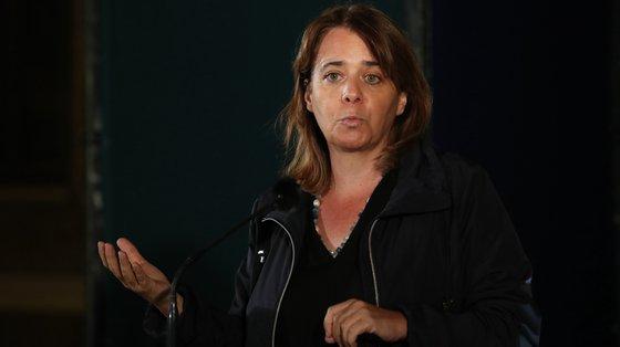 """Os bloquistas, segundo Catarina Martins, manterão as críticas a """"um Programa de Recuperação e Resiliência que não seja capaz de responder aos grandes problemas do país"""""""