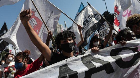 Esta é a quarta vaga de protestos no país em menos de dois meses