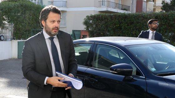 O secretário de Estado Adjunto, do Trabalho e da Formação Profissional, Miguel Cabrita, foi ouvido na comissão parlamentar de Trabalho e Segurança Social