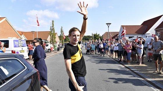 Vingegaard surpreendeu na Volta a França, ao ser segundo classificado da geral, atrás do bicampeão Tadej Pogacar (UAE Emirates), naquela que foi a sua estreia na prova francesa