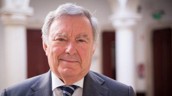 O antigo dirigente do CDS foi eleito a primeira vez como presidente da Câmara Municipal de Sintra em 2013