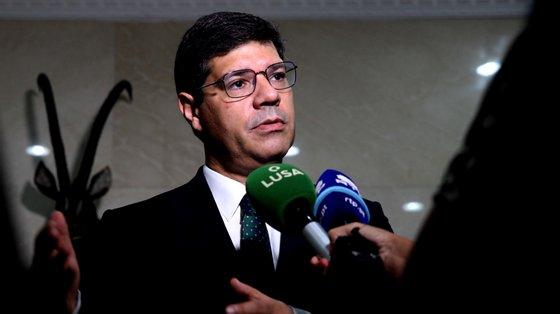 O secretário de Estado explicou que o objetivo era valorizar a forma como o país tem enfrentado a pandemia
