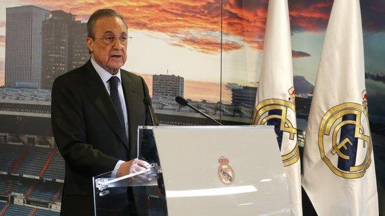 Noutro áudio, o presidente do clube de Madrid insulta Ronaldo, Mourinho e Jorge Mendes. E chama fraudes a Casillas e Raúl