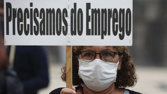 Apesar da subida, o número está longe do verificado no mesmo período de 2019, anterior à pandemia de Covid-19, quando foram entregues 665 pré-avisos de greve