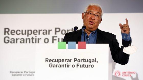 """António Costa apelou à mobilização dos militantes, alertando que """"não há nem derrotas, nem vitórias antecipadas"""""""