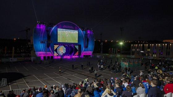 A Rússia, que recebe sete jogos do Euro2020, todos em São Petersburgo, está a ser fortemente afetada por uma nova vaga da epidemia de Covid-19
