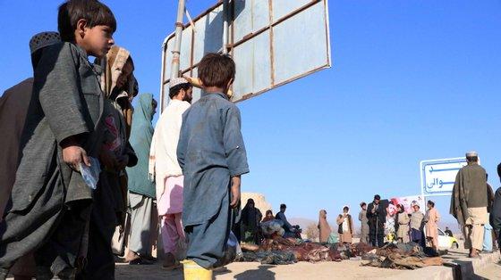 A mais recente ofensiva contra as forças afegãs começou em maio
