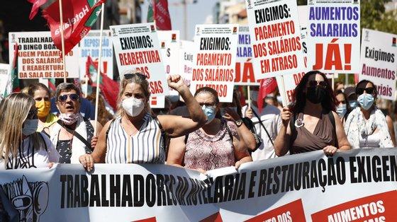 """""""O aumento [acordado entre a STCP e quatro sindicatos] foi de 15 euros para todos trabalhadores, nós pretendemos no mínimo 30 [euros]"""""""