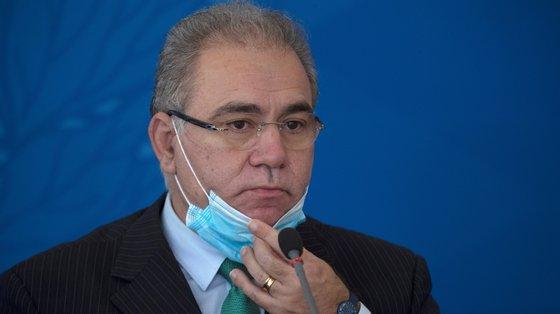 Marcelo Queiroga ficará em isolamento nos Estados Unidos da América