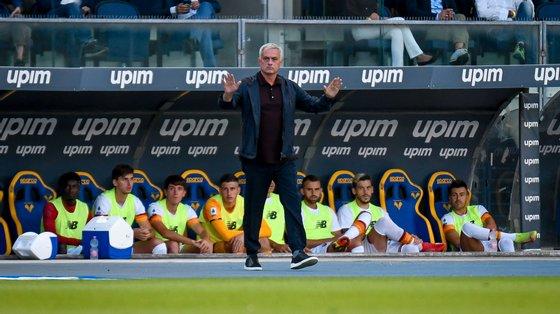 Mourinho não conseguiu dar continuidade à seis vitórias seguidas a abrir, naquela que foi a sua segunda melhor série em 20 anos