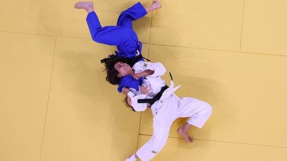 Catarina Costa derrotou desta forma Paula Pareto, argentina que tentava defender título de campeã olímpica em Tóquio