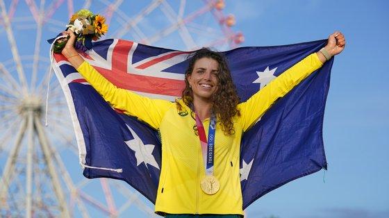 Na prova de K1, a australiana repetiu o bronze conseguido no Rio2016, ficando atrás da espanhola Maialen Chourat