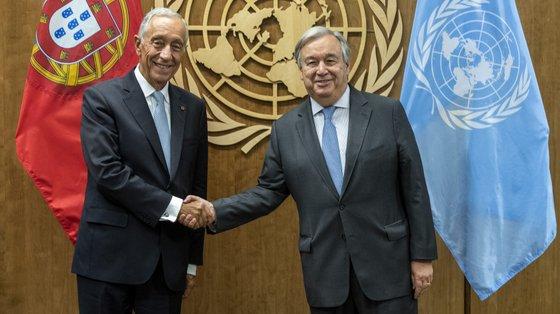 A Assembleia da República aprovou esta quarta-feira a deslocação de Marcelo para assistir à posse de António Guterres