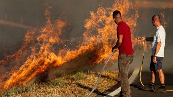 O Comando Territorial de Vila Real da GNR identificou 60 suspeitos de incêndios florestais este ano, e deteve cinco em flagrante delito