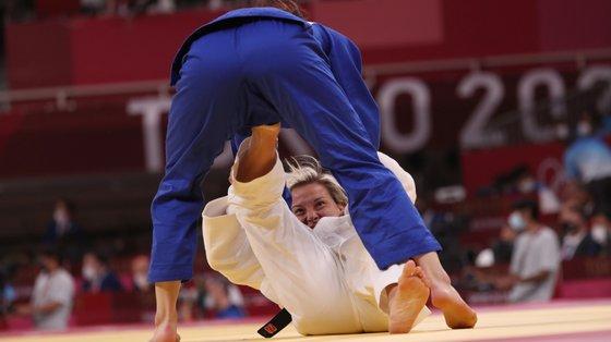 Telma Monteiro sofreu três castigos no período de golden point, dois quase consecutivos, e acabou por ficar arredada da luta pelas medalhas