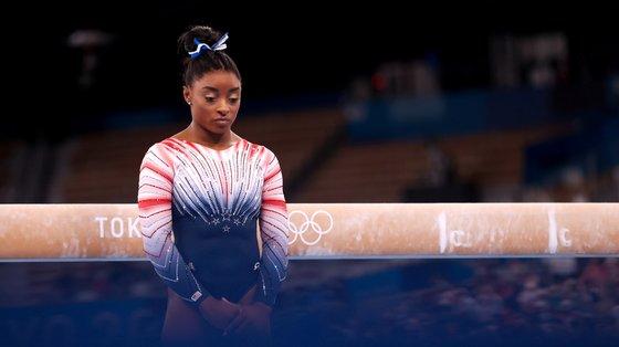 Simone Biles qualificou-se para todas as finais individuais, ainda esteve na final por equipas mas acabou por fazer só a prova final do cavalo (ganhando a medalha de bronze) em Tóquio