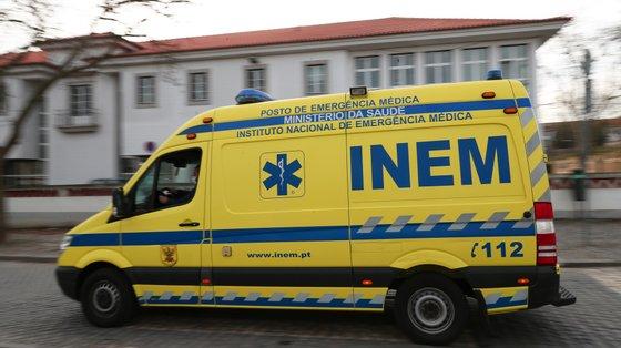 A ANEPC adianta que o alerta para o acidente foi dado às 22h07