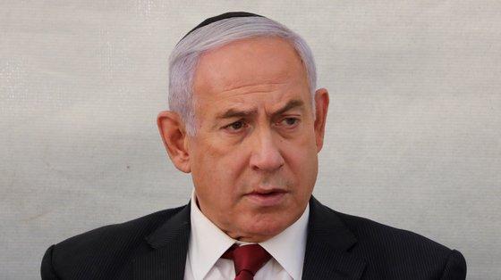 """Netanyahu, cujo julgamento começou em maio de 2020, é acusado de suborno"""", """"fraude"""" e """"abuso de confiança"""""""
