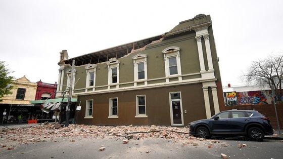 O sismo ocorreu às 9h15 horas locais