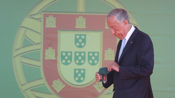 """No domingo, Marcelo Rebelo de Sousa sublinhou que, no que depender dele, não haverá """"volta atrás"""" no processo de desconfinamento"""