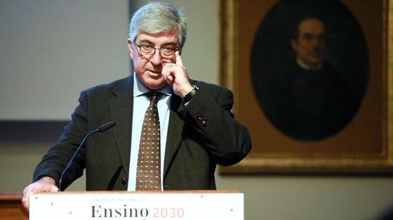 António Sousa Pereira lamentou a suspensão do grupo de trabalho criado em janeiro para estudar o financiamento no ensino superior