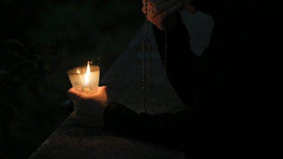 A Amnistia Internacional organizou esta noite uma vigília, no Porto