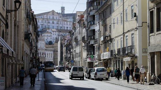 """O candidato voltou a frisar que Coimbra """"precisa de ser uma cidade cuidadora de todos e mais bem cuidada"""