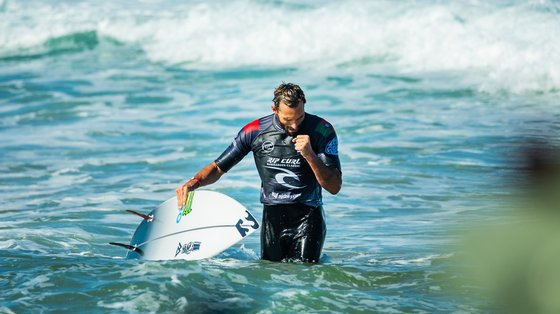 Frederico Morais era apontado como uma das possíveis surpresas na prova de surf, uma das estreantes em Tóquio